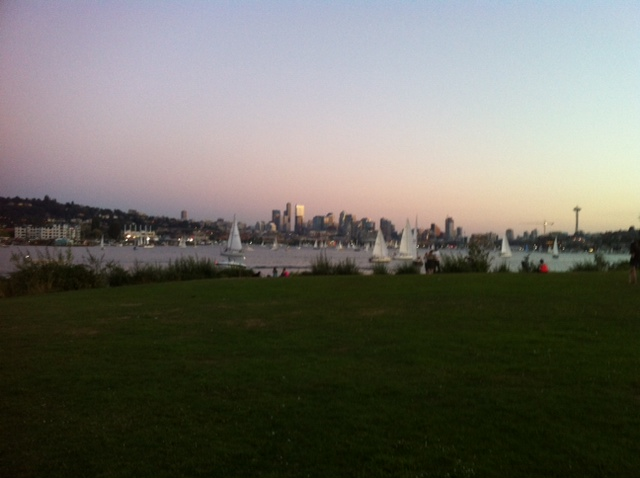 Gas Works Lake